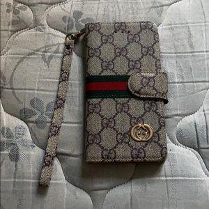 gucci iphone 8 plus wallet case